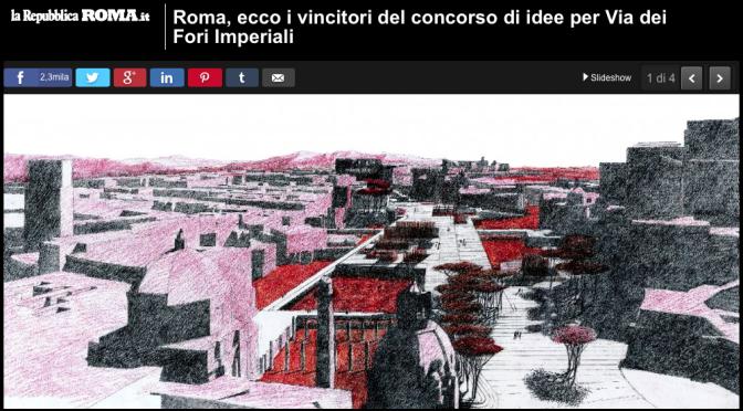 2016 Piranesi Prix de Rome winners published