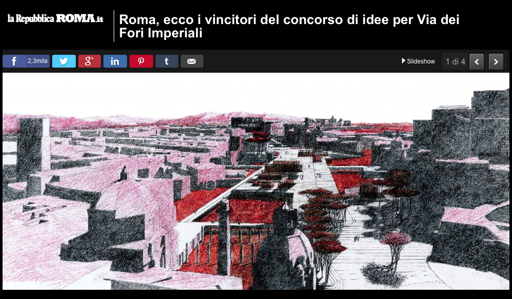 2016 Piranesi Prix de Rome winners published